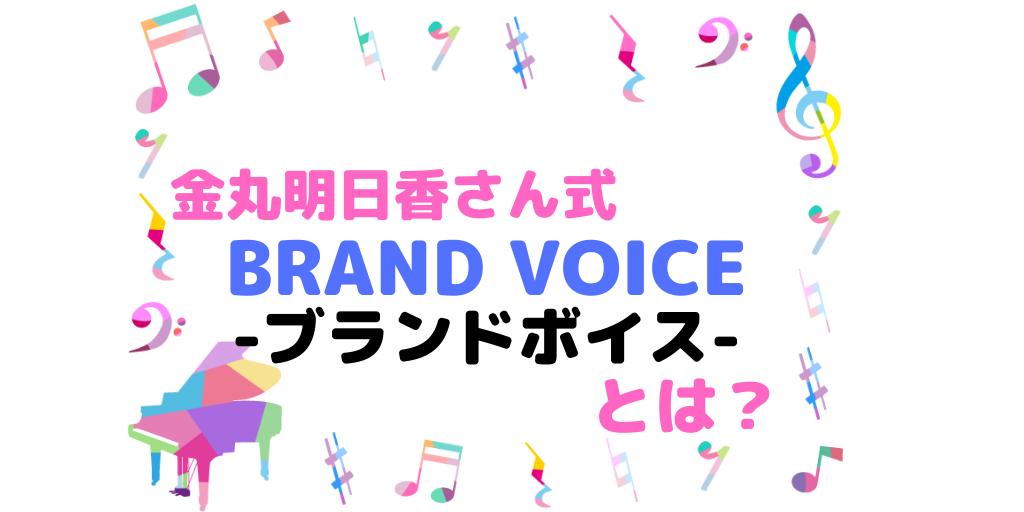 BRAND VOICE-ブランドボイスのイメージ画像