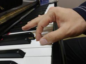親指の良い打鍵